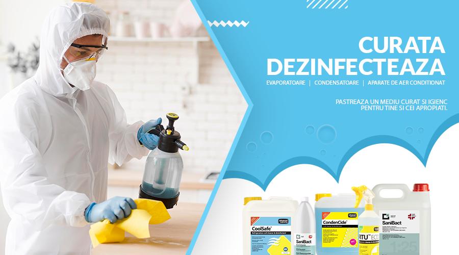 Solutii de curatare / dezinfectare